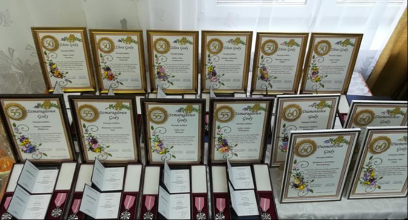 Społeczność, Jubileusz pożycia małżeńskiego Gminie Kazanów - zdjęcie, fotografia