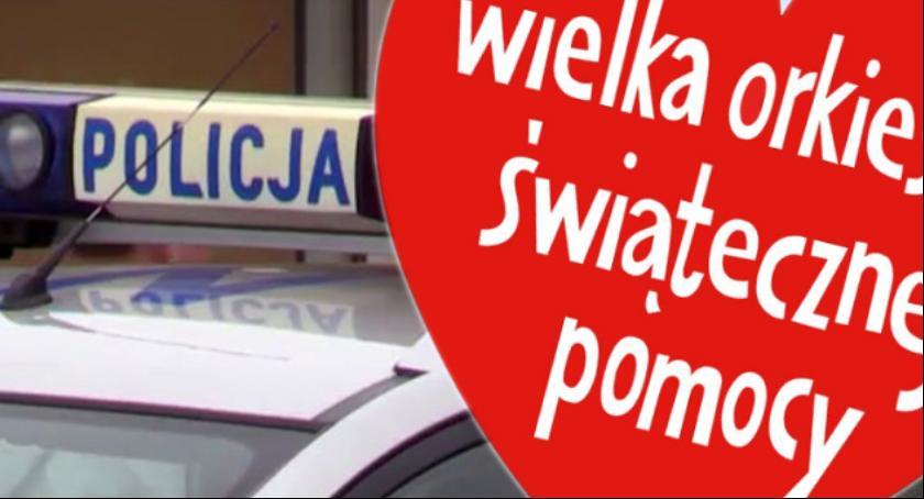Wydarzenia, Policjanci całym kraju zadbają bezpieczeństwo podczas Finału Wielkiej Orkiestry Świątecznej - zdjęcie, fotografia