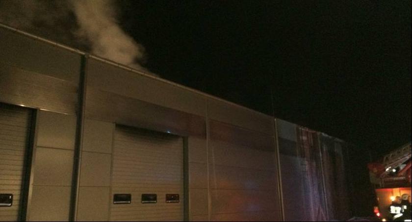 Wydarzenia, Pożar Zwoleniu - zdjęcie, fotografia