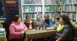 Spotkanie Dyskusyjnego Klubu Książki  z Panem Jackiem Kośćcem.