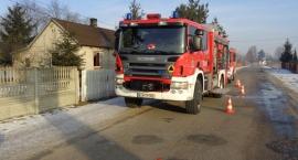Pożar budynku mieszkalnego - Stefanów gm. Przyłęk