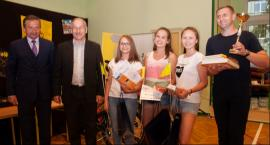 Dziewczyny z Publicznego Gimnazjum w Przyłęku V-ce Mistrzyniami