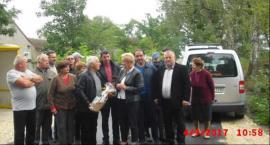 Fotorelacja z odbioru drogi do użytku w miejscowości Kroczów Większy oraz  Kroczów Mniejszy