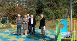 Nowy plac zabaw w Kazanowie