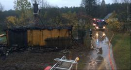 Mężczyzna spalił się w płonącym domu w gminie Kazanów