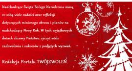 Życzenia Świąteczne od Redakcji TwójZwoleń