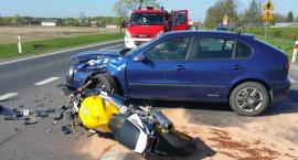 Wypadek w Ługach