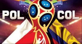 Transmisja meczu z mistrzostw świata Polska  Kolumbia nad zalewem w Zwoleniu