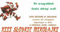 XIII Słodkie Mikołajki