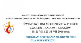 Światowe Dni Młodzieży w Polsce - Zwoleń - Radom - Kraków