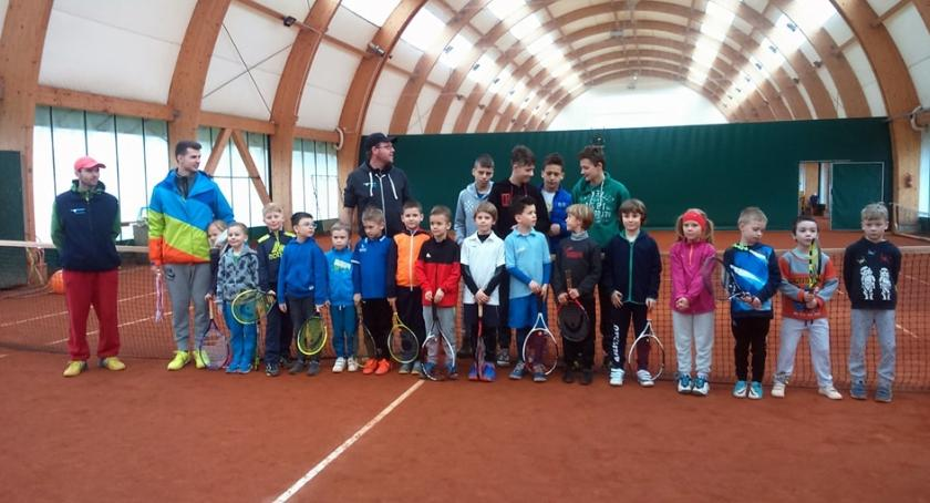 Sport, Tenisowy turniej najmłodszych - zdjęcie, fotografia