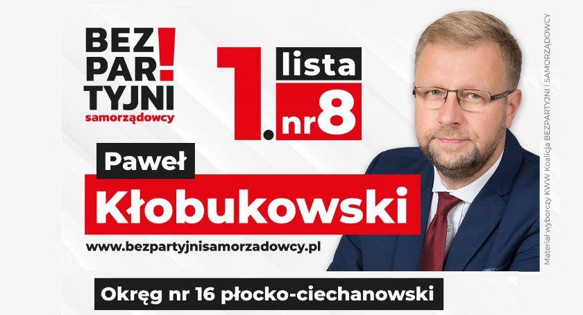 Komunikaty, Paweł Kłobukowski Bezpartyjni Samorządowcy szansą odmianę polskiej polityki - zdjęcie, fotografia