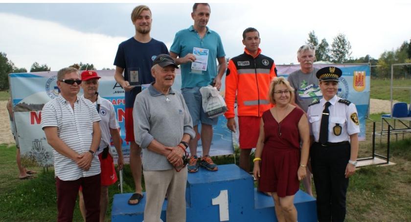 Sport, Maraton Pływacki żyrardowskim Zalewem - zdjęcie, fotografia