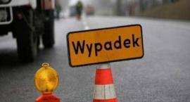 Seria wypadków na drogach powiatu żyrardowskiego