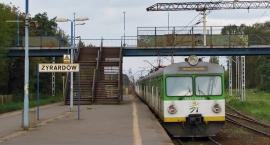 Alarm bombowy na stacji PKP Żyrardów