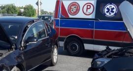 Zderzenie aut w Mszczonowie