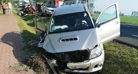 Wypadek drogowy na DK50 w miejscowości Guzów.