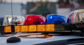 Policjanci ścigali mężczyznę podejrzanego o rozbój