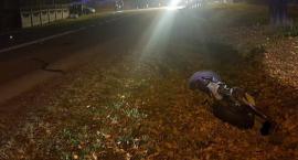 Śmiertelny wypadek w Mszczonowie. Zginął motocyklista