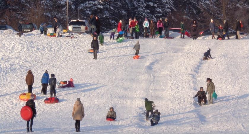 Oprócz zabaw na świeżym powietrzu dzieci mogą skorzystać z atrakcji przygotowanych przez organizatorów miejskich ferii w Skierniewicach 2017.