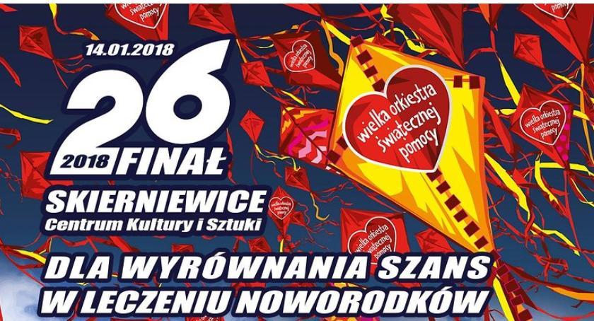 Imprezy, Finał WOŚP Skierniewicach - zdjęcie, fotografia