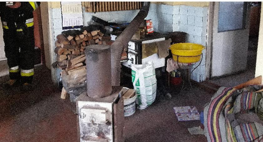 Pożary i wypadki, mieszkaniec powiatu skierniewickiego został uratowany - zdjęcie, fotografia