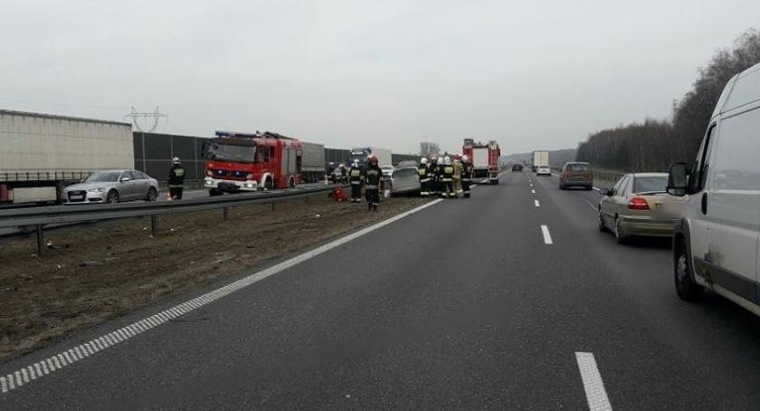 Pożary i wypadki, Wypadek - zdjęcie, fotografia