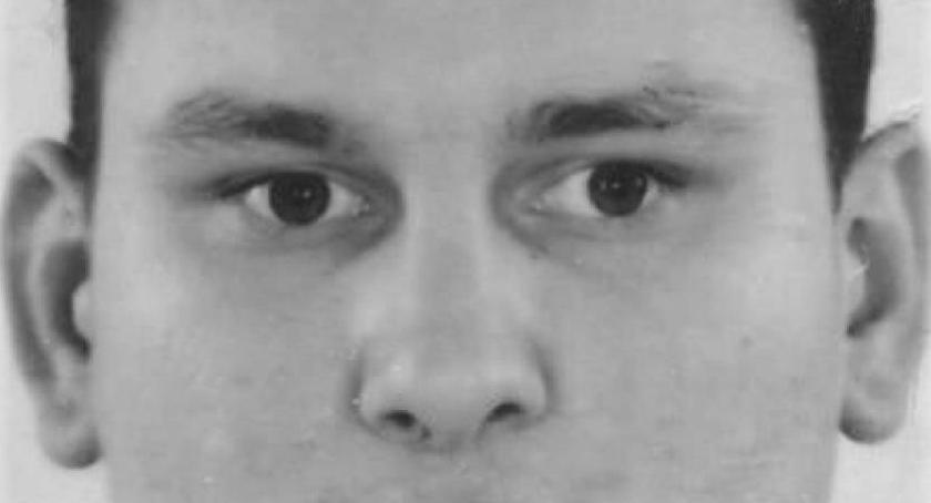 Kronika Kryminalna, Zaginął Łukasz Szwed Skierniewicka policja prosi pomoc - zdjęcie, fotografia