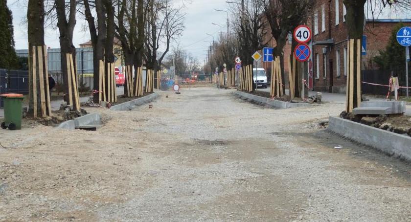 Inwestycje, Sprawdź kiedy zakończą prace ulicy Maja - zdjęcie, fotografia
