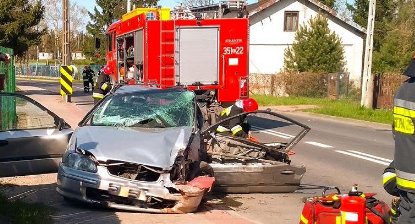 Pożary i wypadki, Wypadek Waryńskiego - zdjęcie, fotografia