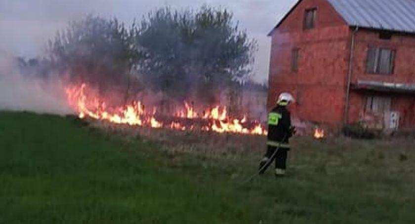 Pożary i wypadki, Pracowity dzień strażaków - zdjęcie, fotografia