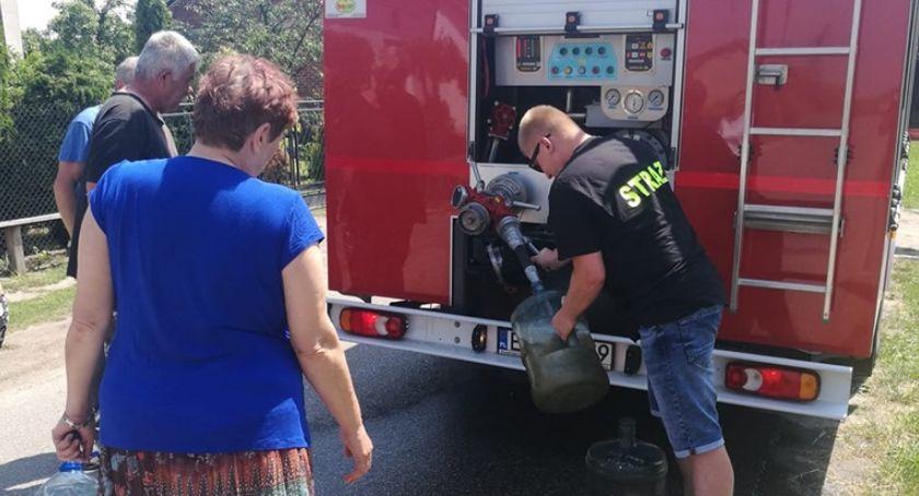 Wiadomości, Strażacy ruszają pomocą - zdjęcie, fotografia