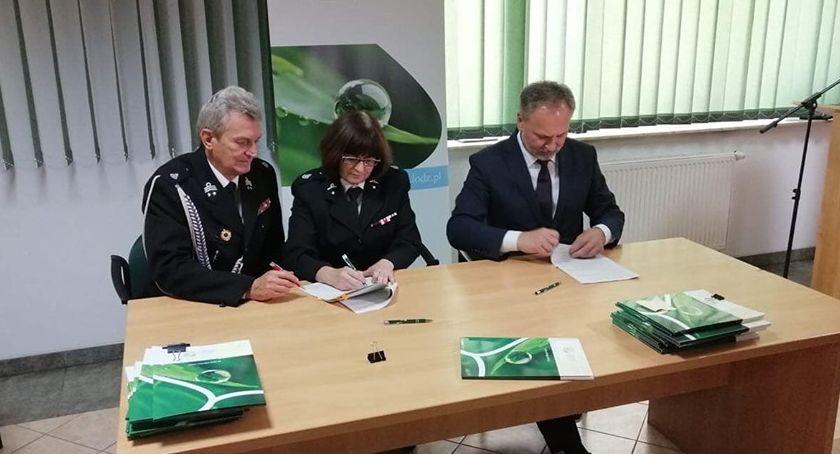 Inwestycje, Podpisano umowę dofinansowanie jednostki Skierniewice - zdjęcie, fotografia