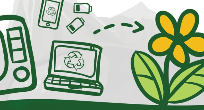 Wiadomości, Oddaj stary sprzęt zamian roślinkę - zdjęcie, fotografia