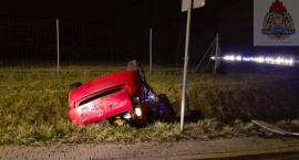 Wypadek na autostradzie A2 koło Mogił