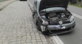 Poranne zderzenie pojazdów w miejscowości Słupia