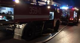 Pożar piwnicy w budynku przy ul. Północnej w Skierniewicach