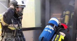 Pożar w restauracji przy ul. Rynek w Skierniewicach