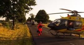 Wypadek w miejscowości Byczki. Utrudnienia w ruchu