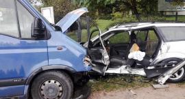 Groźny wypadek w Dąbrowicach