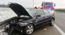 Poranny wypadek na 398 km trasy S8