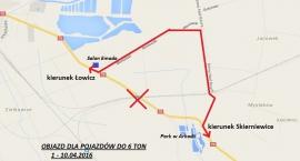 Przejazd kolejowy w Arkadii zamknięty na 10 dni - zmiany w organizacji ruchu