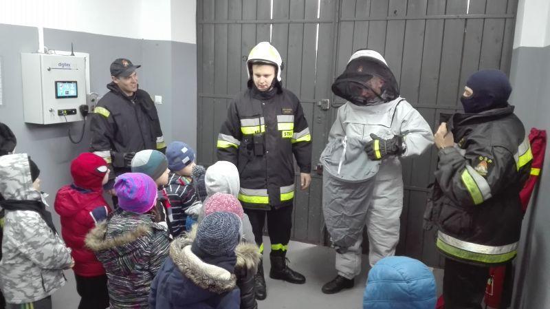 Edukacja, Poznali zawód nauczyciela strażaka - zdjęcie, fotografia