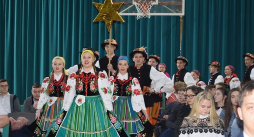 Edukacja, Wigilia Blich świętuje łowicku - zdjęcie, fotografia
