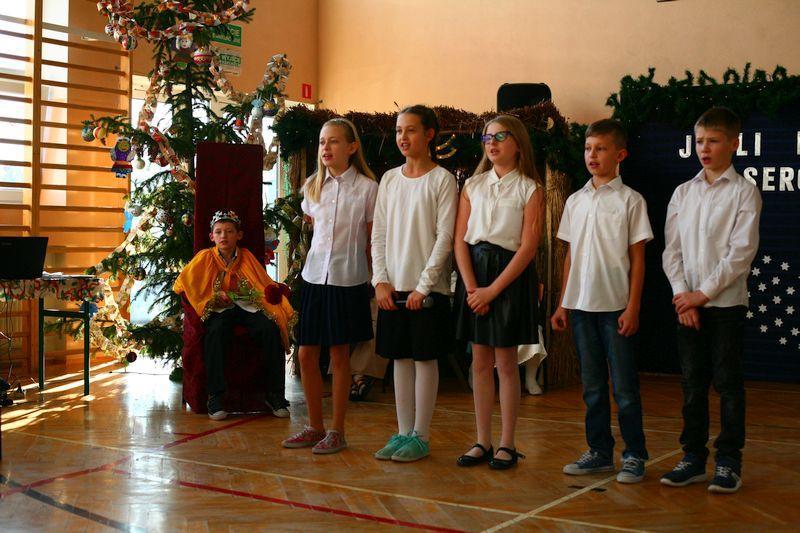 Edukacja, Jasełka Małym Księciem Niedźwiadzie - zdjęcie, fotografia