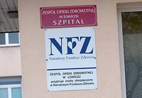 Szpital i opieka społeczna, Szpital Łowiczu przed kolejnymi remontami - zdjęcie, fotografia