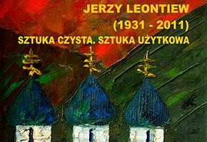 Wystawy, Wernisaż wystawy sztuki Jerzego Leontiewa - zdjęcie, fotografia