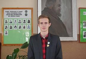 Edukacja, Licealista finale Olimpiady Historycznej - zdjęcie, fotografia