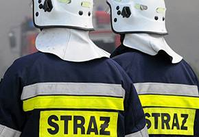 Interwencje straży pożarnej, Nocny pożar złomowisku Rząśnie - zdjęcie, fotografia