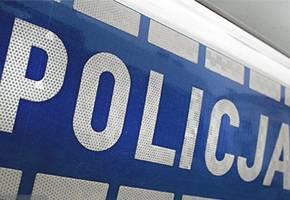 Kronika policyjna, blisko poprzedzającego samochodu - zdjęcie, fotografia